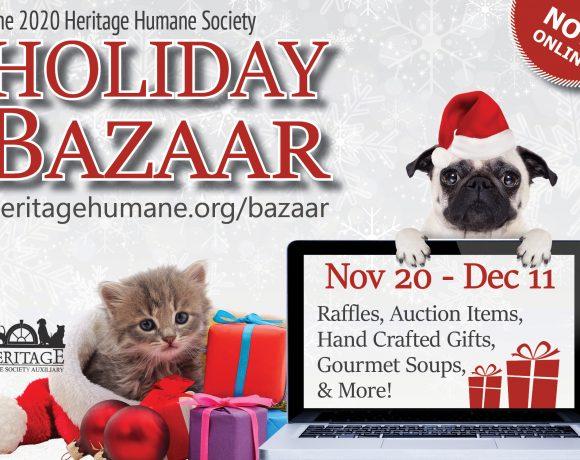 Holiday Bazaar   Now ONLINE!   Heritage Humane