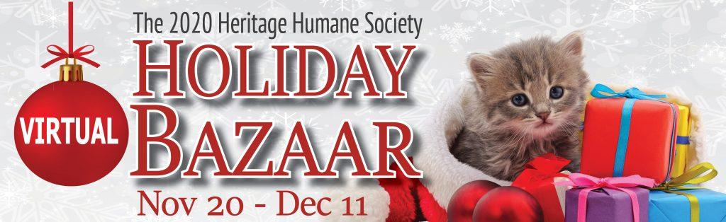 Holiday Bazaar   Heritage Humane
