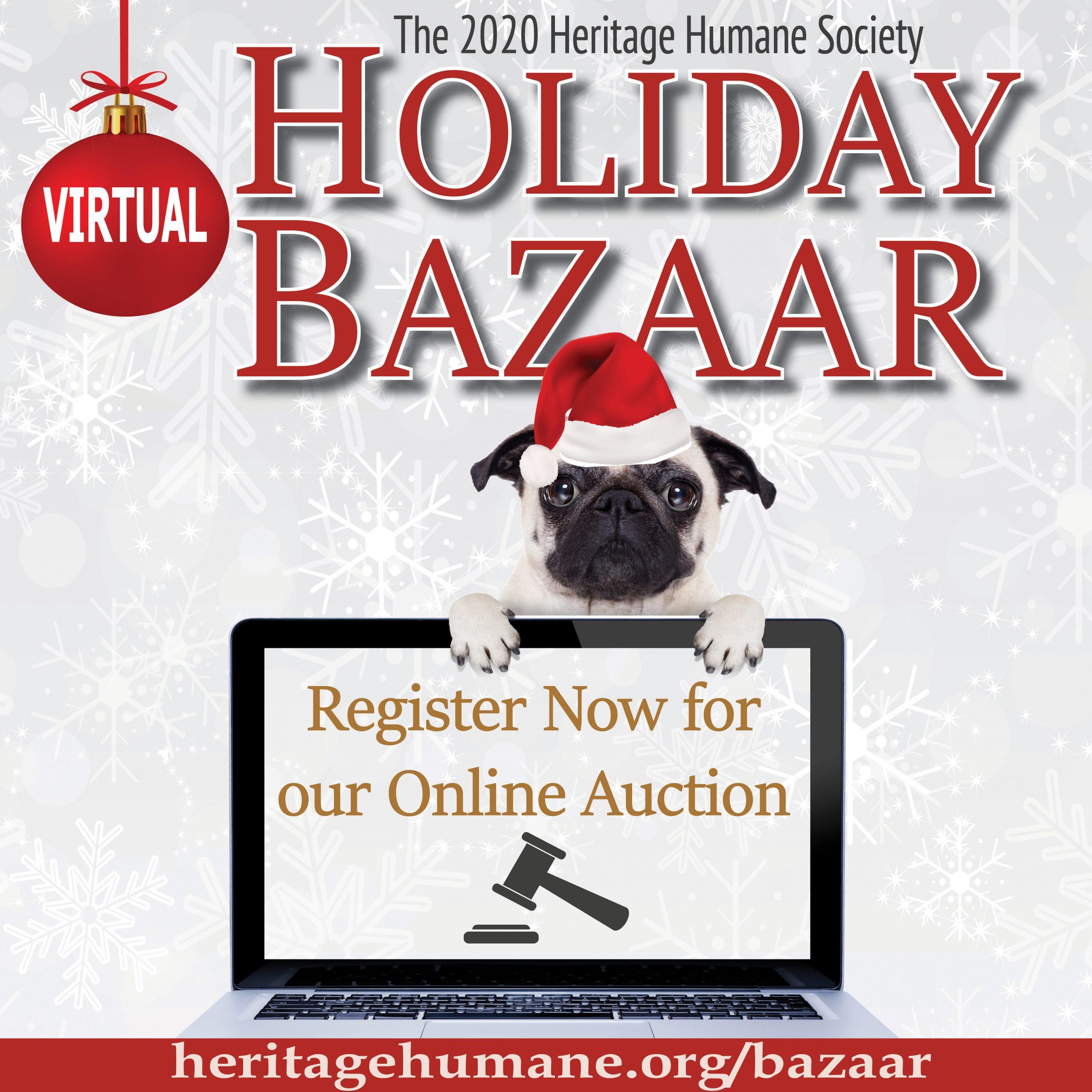 Our Online Holiday Bazaar is OPEN!   Heritage Humane
